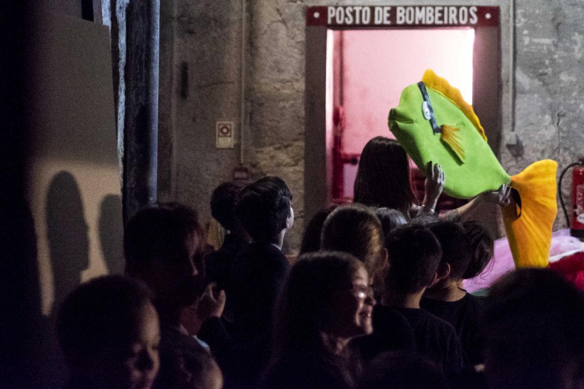 Teatro Sá da Bandeira recebeu uma peça de teatro dos alunos da EB 1 do Bom Sucesso