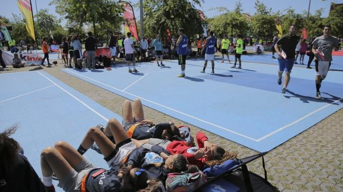 Fase final de 3×3 basquetebol