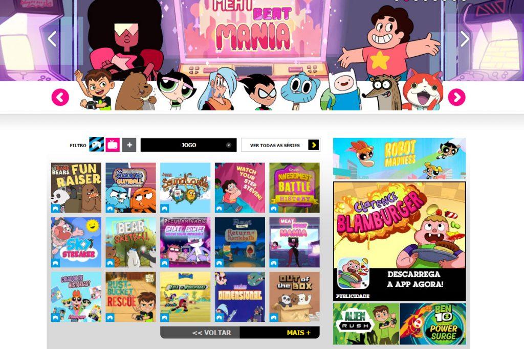 Joga Com As Tuas Series Preferidas Do Cartoon Network Jn Tag