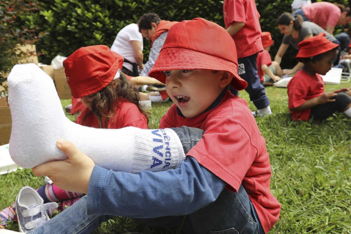 Crianças exploram o Parque Biológico de Gaia numa iniciativa da Ciencia Viva