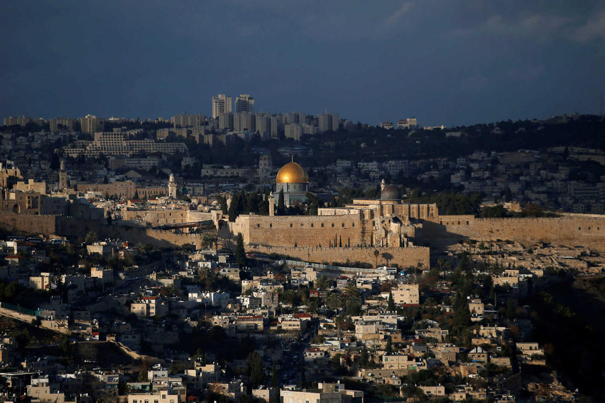 FILE PHOTO: A general view of Jerusalem shows the Dome of the Rock, located in Jerusalem's Old City on the compound known to Muslims as Noble Sanctuary and to Jews as Temple Mount