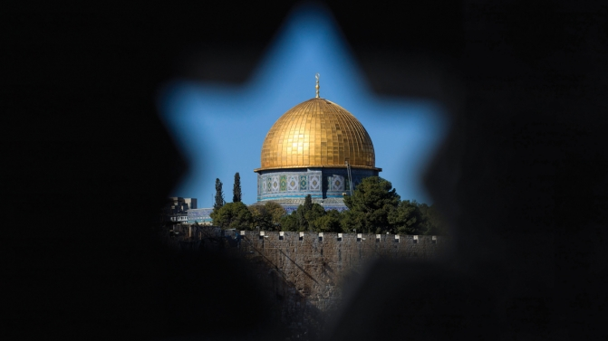 Tension in Old City of Jerusalem after Trump announcement