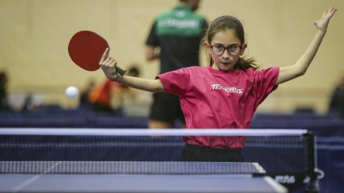 Campeonato Nacional de ténis de mesa em infantis