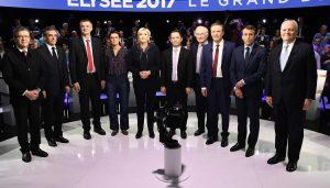 Em França há 11 candidatos à presidência